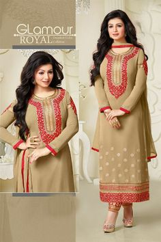 Ayesha Takia Chikoo #Party Wear #Salwar Kameez. Grab now  andlook like a #celebrity in the parties and function with your style and fashion Shop Now @ http://www.sanwaree.com/Buy/Ayesha-Takia-Chikoo-Party-Wear-Salwar-Kameez-1784-21257