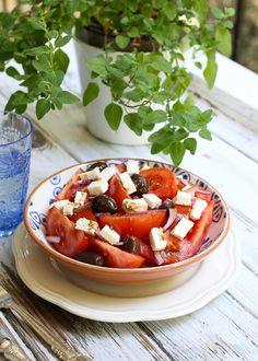 Mediterranean Tomato Salad