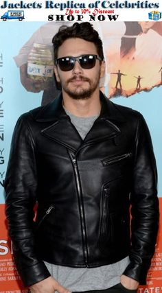 2014 New James Franco Jacket now on Discount price Sale OFFER along FREE Shipping at US, Uk and Canada So don't wait Grab it now:   #JamesFranco #Jacket #onSale #Black #Color #Lambskin #Leather #onlineclothing #free #FreeShipment #DiscountedRates #MaleClothing #Gifts #maleFashion #fashionstore #weekend