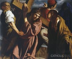 The Meeting on the Way of the Cross - Gent - 54 Paintings of the Passion, Death and Resurrection of Jesus Christ