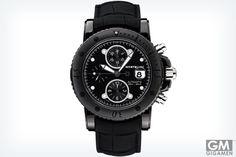 オールブラックの魅力 モンブランの超高級時計