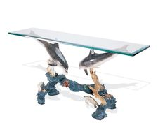 Wyland Sculpture Entry Table