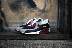 nike air max 90 black burgundy grey f5 2017
