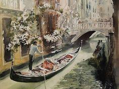 Sergiy Lysyy Venice (fragment) Venice, Watercolors, Inspiration, Facebook, Art, Watercolor Painting, Biblical Inspiration, Art Background, Water Colors