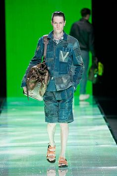 Louis Vuitton Spring Summer 2013 Blue Magic, Men's Collection, Indigo, Peplum Dress, Gucci, Menswear, Spring Summer, Louis Vuitton, Mens Fashion