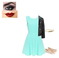 """going out to lunch with friends"" by shorty6112 on Polyvore featuring Monsoon, Jeffree Star, Rebecca Minkoff and H&M"