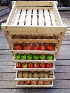 DIY Food Storage Drying Rack ~ Goods Home Design