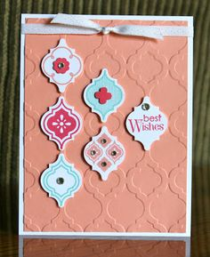 Stampin' Up! Mosaic Madness by Krystal's Cards and More: I'm still here!! Another CASEd card.