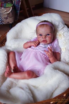 ELIZABETH: PILAR - ADRIE STOETE - LE: Dolls as Live - Made with Love - Sunshine Babies - Reborn Dolls
