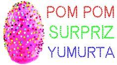Pom Pom Slime DEV Sürpriz Yumurta Açma Toto Ozmo Egg Oyuncakları