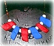 Packing Peanut Necklace - All Free Crafts Easy Craft Projects, Crafts To Make, Crafts For Kids, Projects To Try, Arts And Crafts, Patriotic Crafts, Camping Crafts, Craft Activities, Peanuts