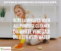 Here is an amazing hack to clean up your kitchen laminates.   #tips #cleaningtips #laminates - http://ift.tt/1HQJd81