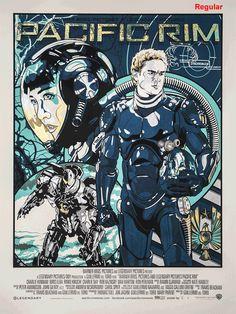 Pacific Rim poster by NE for Odd City