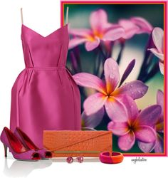 """Plumeria Contest 2"" by angkclaxton ❤ liked on Polyvore"