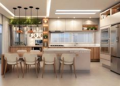 23 Charming Cottage Kitchen Design and Decorating Ideas that Will Bring Coziness to Your Home - The Trending House Kitchen Room Design, Kitchen Cabinet Design, Modern Kitchen Design, Home Decor Kitchen, Home Kitchens, Kitchen Ideas, Modern Kitchen Interiors, Modern Kitchen Cabinets, Small Space Interior Design
