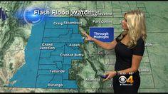 Latest Forecast: Flash Flood Concerns High For WesternSlope - CBS Denver