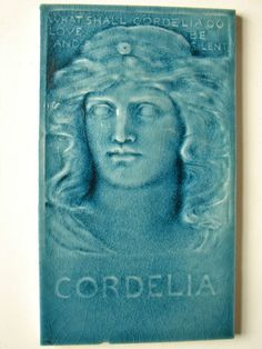 Cordelia art tile by Low