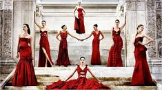 Valentino Red! Nothing says glam more than Valentino red.