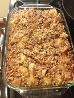 The Foust Family: Baked French Toast Casserole with Praline Topping