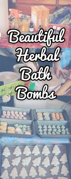 Great gift idea - herbal bath bombs, cheap, easy, fun, and so creative - can we say homemade Christmas or birthday gifts?? Natural coloring - natural scents - wonderful recipe!