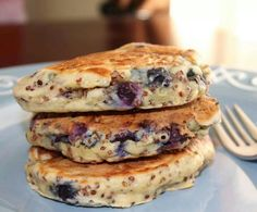 Quinoa pancakes..mm add protein..perfect