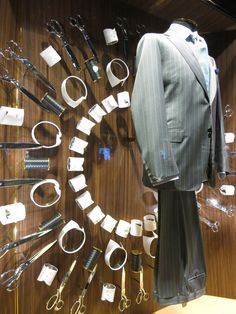 www.retailstorewindows.com: Canali, London