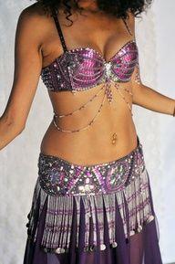 pink tribal bellydance bra - Google Search
