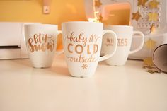 The most beautiful plot projects for beginners Silhouette Cameo Freebies, Life Is Too Short Quotes, Glass Engraving, Three Little Pigs, Silhouette Portrait, Diy Blog, Hacks Videos, Green Day, Vinyl