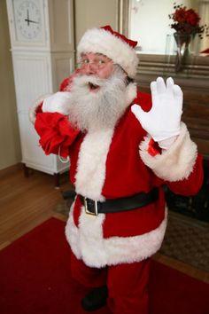 Real bearded Santa Claus
