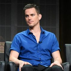 "Matt Bomer participates in the ""American Horror Story: Hotel"" panel at the FX Summer TCA Tour at the Beverly Hilton Hotel on Friday, Aug. 7, 2015, in Beverly Hills, Calif. (Photo by Richard Shotwell/Invision/AP)"