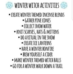 ✨ Witchy Tips ✨ ( Magick Spells, Wiccan, Wicca Witchcraft, Yule Traditions, Pagan Yule, Eclectic Witch, Baby Witch, Winter Magic, Modern Witch