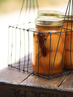 This Pickled Peaches recipe only requires five basic ingredients: fruit, sugar, vinegar, cinnamon, and cloves.