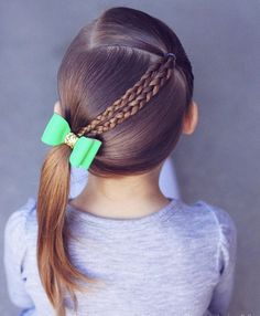 Little Girls Hair Cuts. Wanting to find some trendy and stunning hair styles for little girls? Easy Toddler Hairstyles, Baby Girl Hairstyles, Princess Hairstyles, Braided Hairstyles, Trendy Hairstyles, Hairstyles For Toddlers, Young Girls Hairstyles, Easy Little Girl Hairstyles, Hairstyles 2016