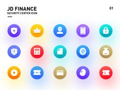 JD Finance Security Center ICON designed by Connect with them on Dribbble; Pos Design, App Icon Design, I Icon, Icon Set, Android Icons, Face Icon, Cv Resume Template, Computer Icon, Presentation Design
