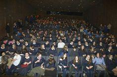Exitazo de la primera sesión en Caixaforum para profesores y alumnos! #caballoganador #estatardemas #festivaleducacine