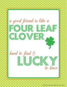 St. Patrick's Day printables......subway art, favor box, banners and T-shirt templates.