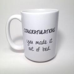 Personalized Coffee Mug Custom Gift van SincerelyMaryEllen op Etsy Diy Mugs, Personalized Coffee Mugs, Pebeo Porcelaine, Coffee Cups, Tea Cups, Coffee Coffee, Diy Cadeau, Cool Mugs, I Love Coffee