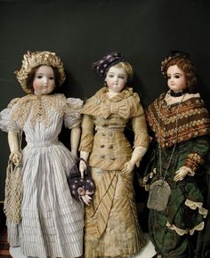 "Fashion dolls were the original models for advertising clothes. Aimed at french upper-elites  "" Les Parisiennes"""