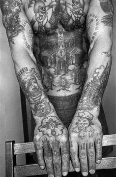 Tattoo art: Russian Criminal Tattoos: Russian Church tattoos