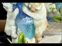 Espazio Ideal 2 de septiembre 2015 Telecafé - YouTube Youtube, Crafts, Character, Art, Craft Tutorials, September 2, Hand Painted Pottery, Painted Bottles, Plaster