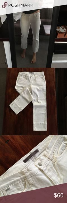 """NWT Joe's Jeans Cuff Kicker New with tags Joe's cuffed jeans. Style: Jenny Cuffed Kicker. Perfect condition. Slightly wider at bottom but can be cuffed up further. 24"""" inseam uncuffed Joe's Jeans Jeans Ankle & Cropped"""