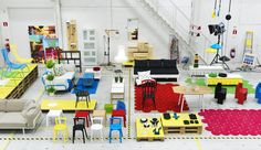 Sneak-peak of the new IKEA PS 2012 collection coming in May (at least in Sweden I think).