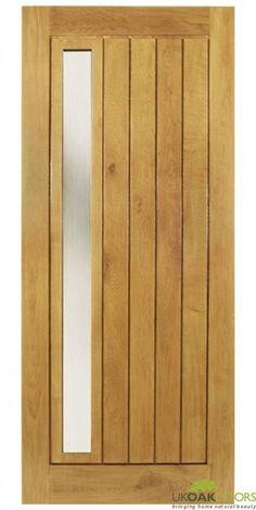 Mexicano Contemporary External Solid Oak Door