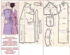 фасоны и выкройки халатов для полных дам: 10 тыс изображений найдено в Яндекс.Картинках