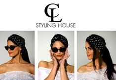 CL New Collection Summer Range inspired by Cotton Polka Dot Turban headband Photography : Roche Permal Photography Assistant : Paul Bransby Model : Rene Uslter Makeup, Styling & Art Direction : Tara - Lee Delport Turban Headbands, Turbans, Cl, Art Direction, Monochrome, Polka Dots, Sunglasses, Stylish, Unique