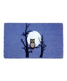 Love this Night Owl Coir Doormat on #zulily! #zulilyfinds