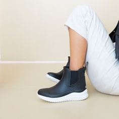 looks like a sneaker, acts like a rain boot. we love a shoe that can do the most for you 😘 #shopchooka Rain Boots, Adidas Sneakers, Outfit Ideas, Outfits, Collection, Shopping, Shoes, Fashion, Moda