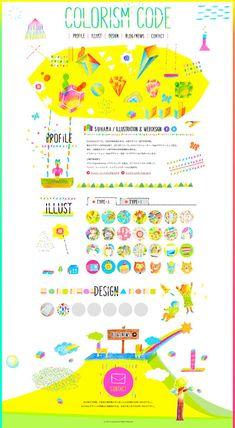 Unique Web Design, Colourism Code via @myfriendyaya #WebDesign #Design