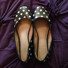 HAVE - Polka dot yes, but black & white too - they won out because I can handle the polka dots better on shoes.