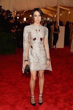 Met Ball 2013: Red Carpet Fashion From Your Favorite Stars (PHOTOS) Aubrey Plaza wearing Marios Schwab